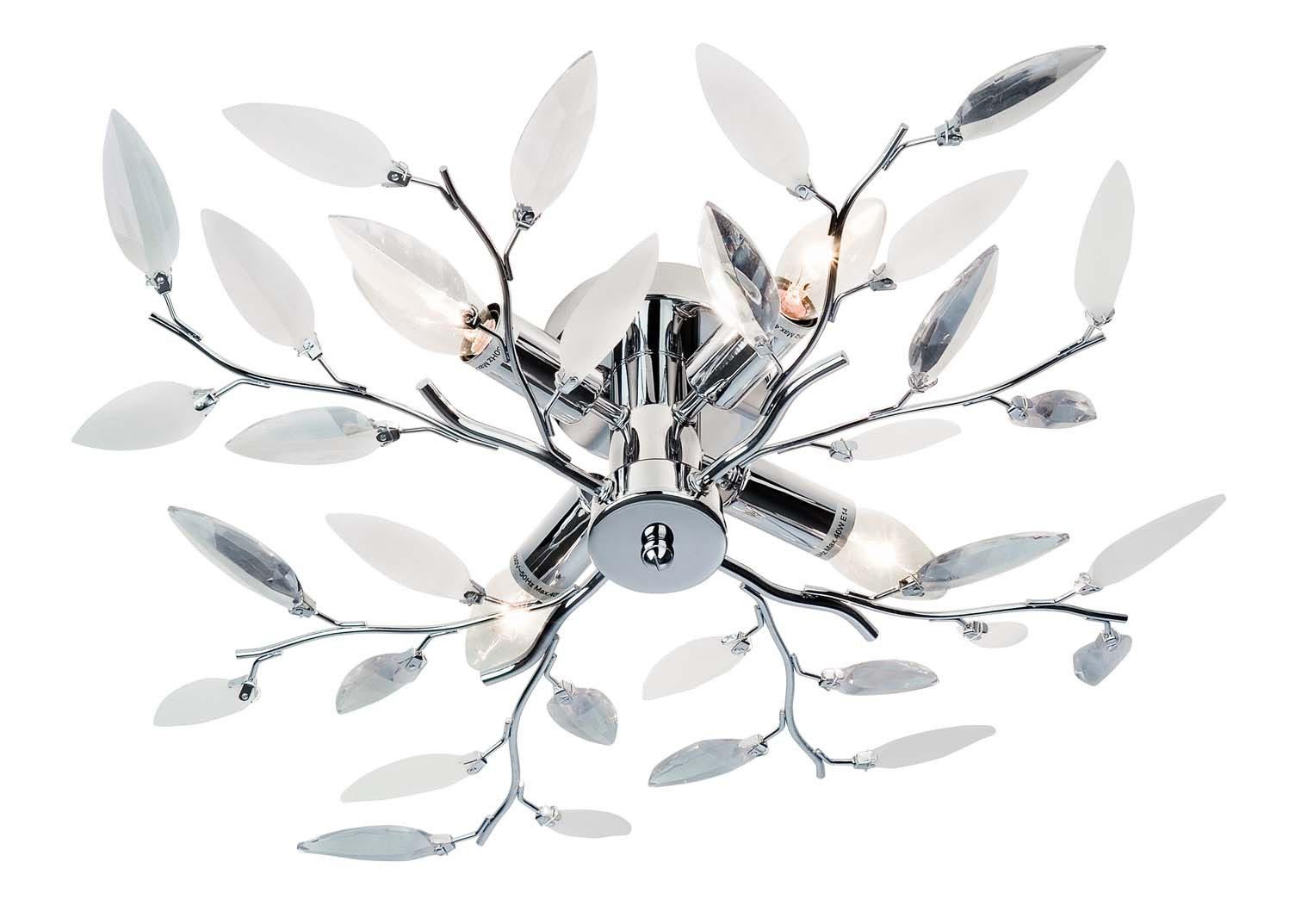 Möbel Eilers Apen, Räume, Wohnzimmer, Lampen + Leuchten, Deckenleuchte,  Deckenleuchte Nottingham   Deckenlampe, Chrom U0026 Mattweißes Acryl    Durchmesser Ca.