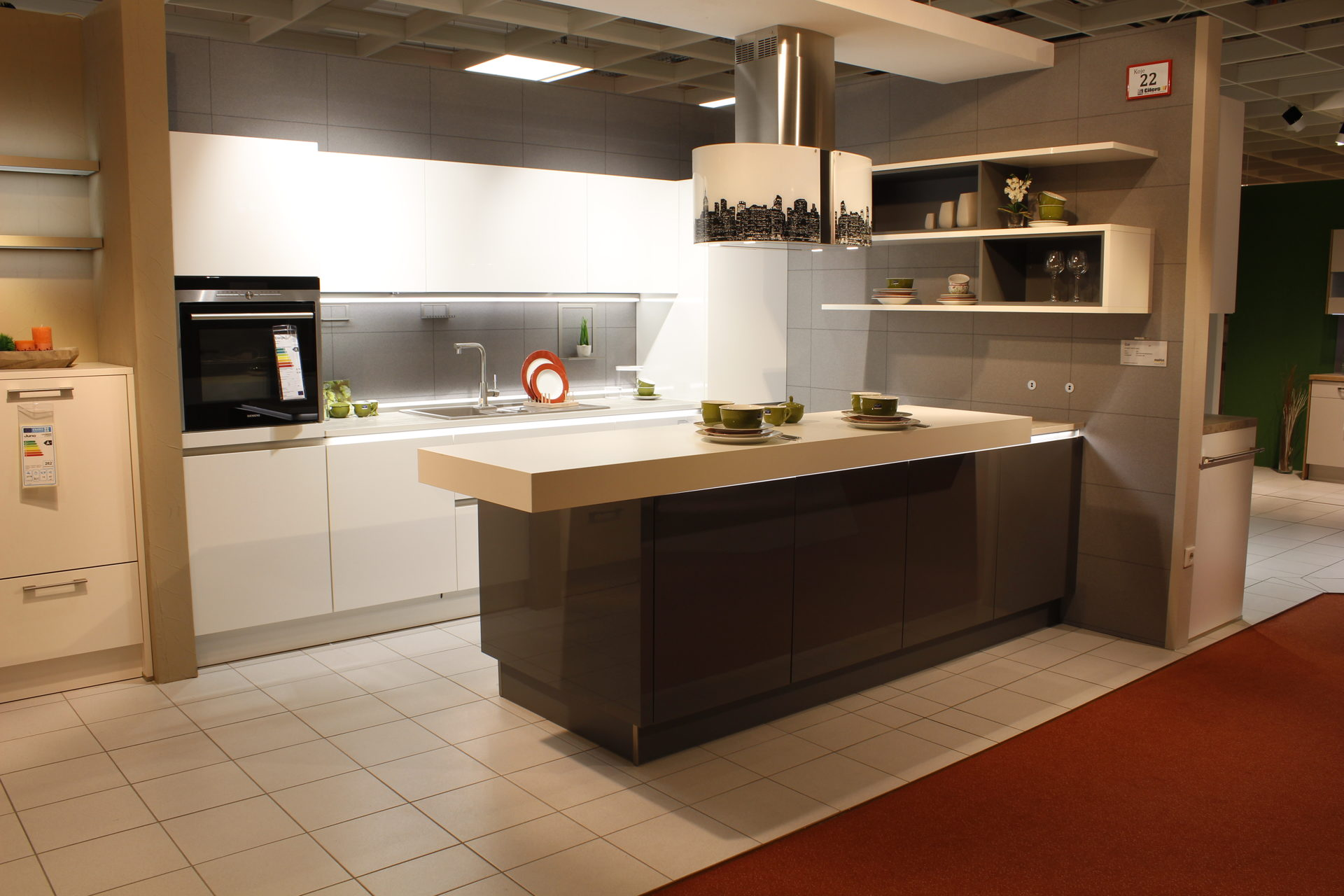 Küche Nolte Online Kaufen. Komplett Küche Spritzschutz Weiß Omas ...