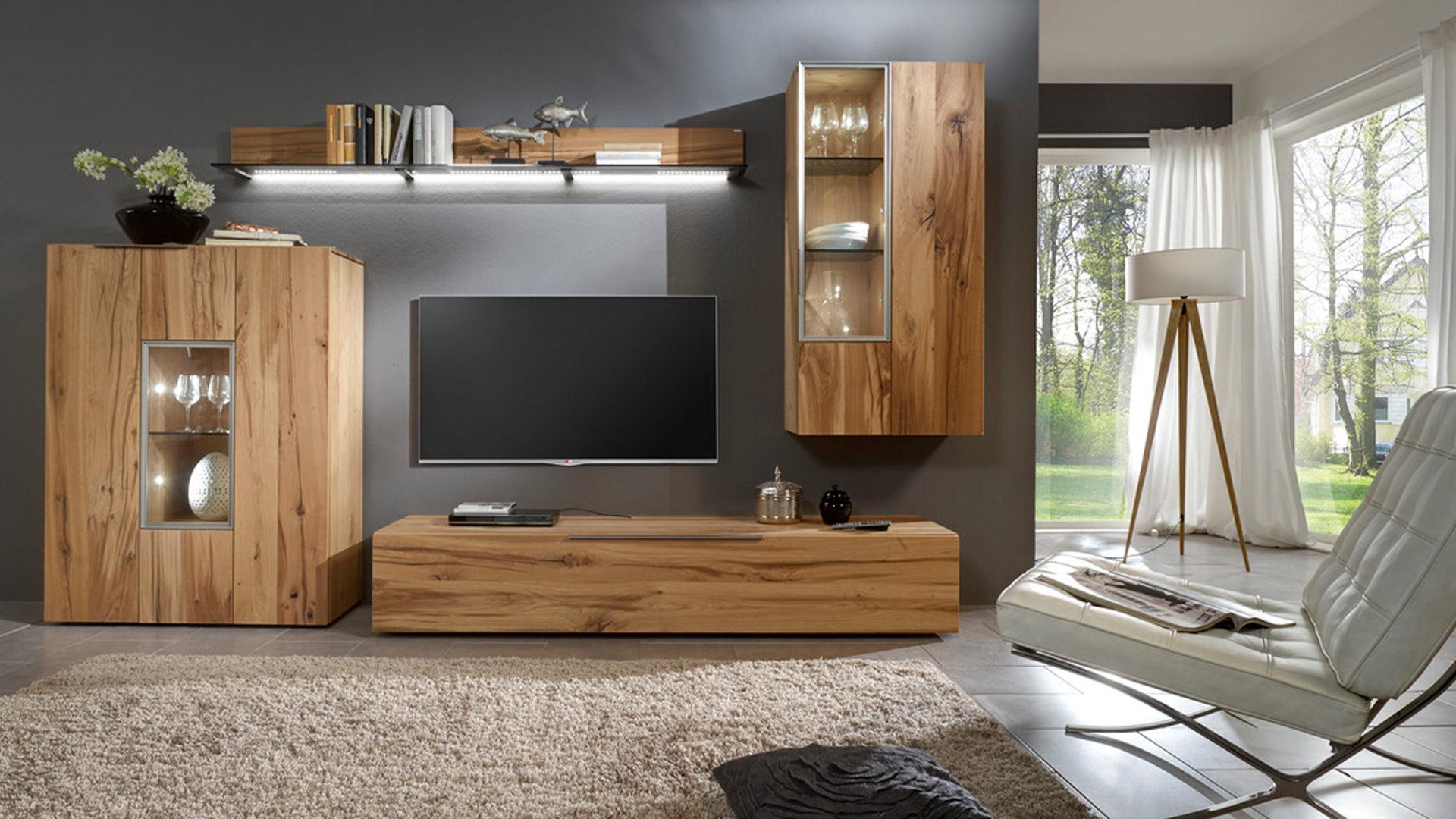 Wohnwand altholz  Möbel Eilers Apen, Möbel A-Z, Schränke + Wohnwände, Wohnwände ...
