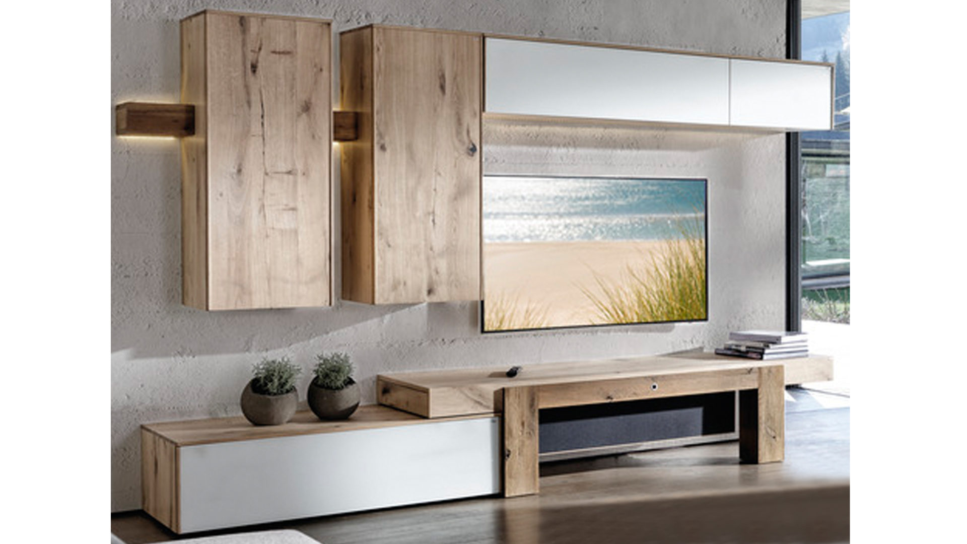 Möbel Eilers Apen, Räume, Wohnzimmer, Schränke + Wohnwände, VOGLAUER ...