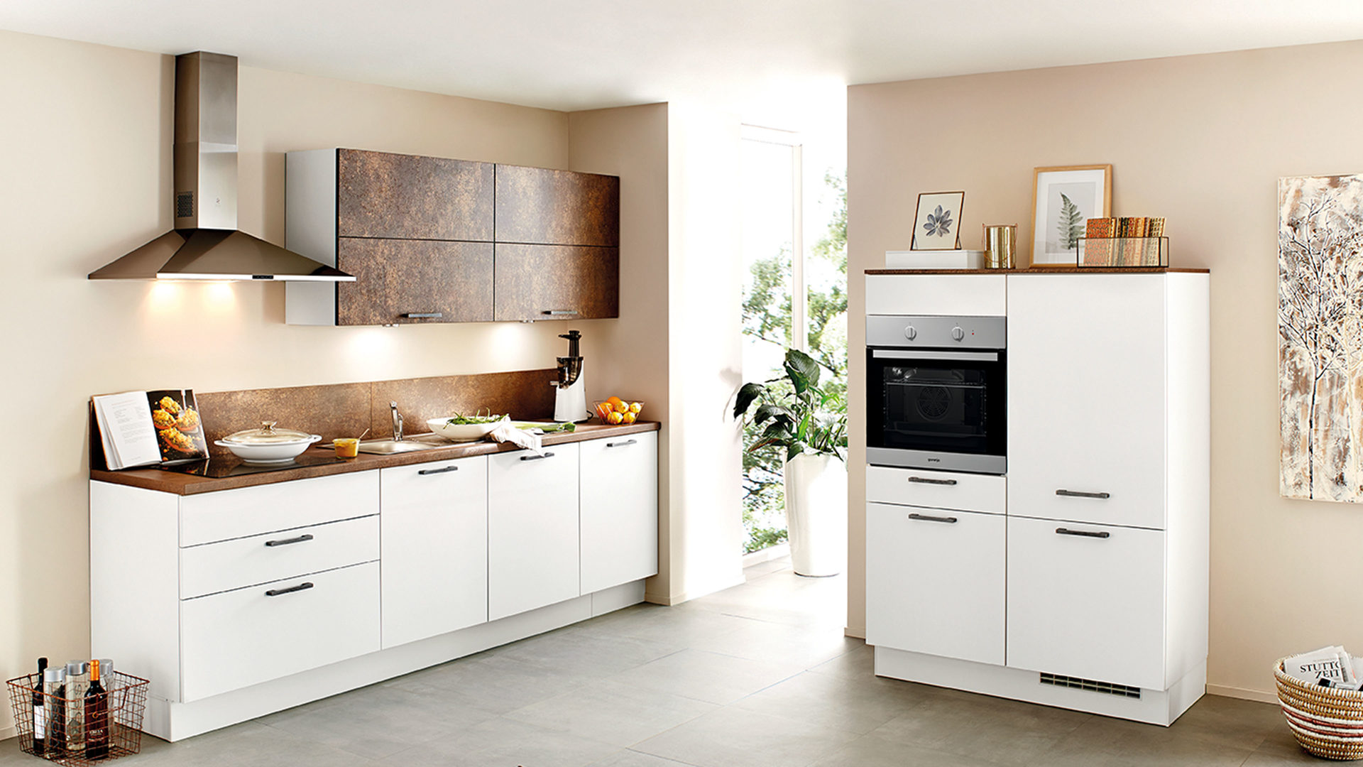 Gorenje Kühlschrank Wie Lange Stehen Lassen : Möbel eilers apen einbauküche mit gorenje elektrogeräten wie