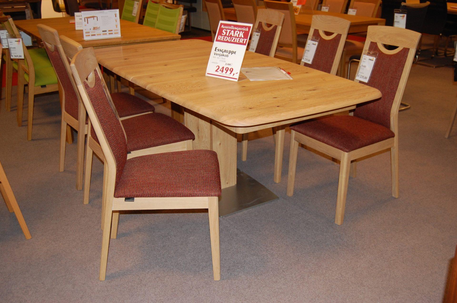 Möbel Eilers Apen | Abverkauf | Esszimmer | Tisch Und Stühle  Ausstellungsstück | Venjakob, Tisch Und Stühle Ausstellungsstück,  Günstiger, ...